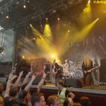 Arch Enemy Live in Wiesen beim 2DAW 2015
