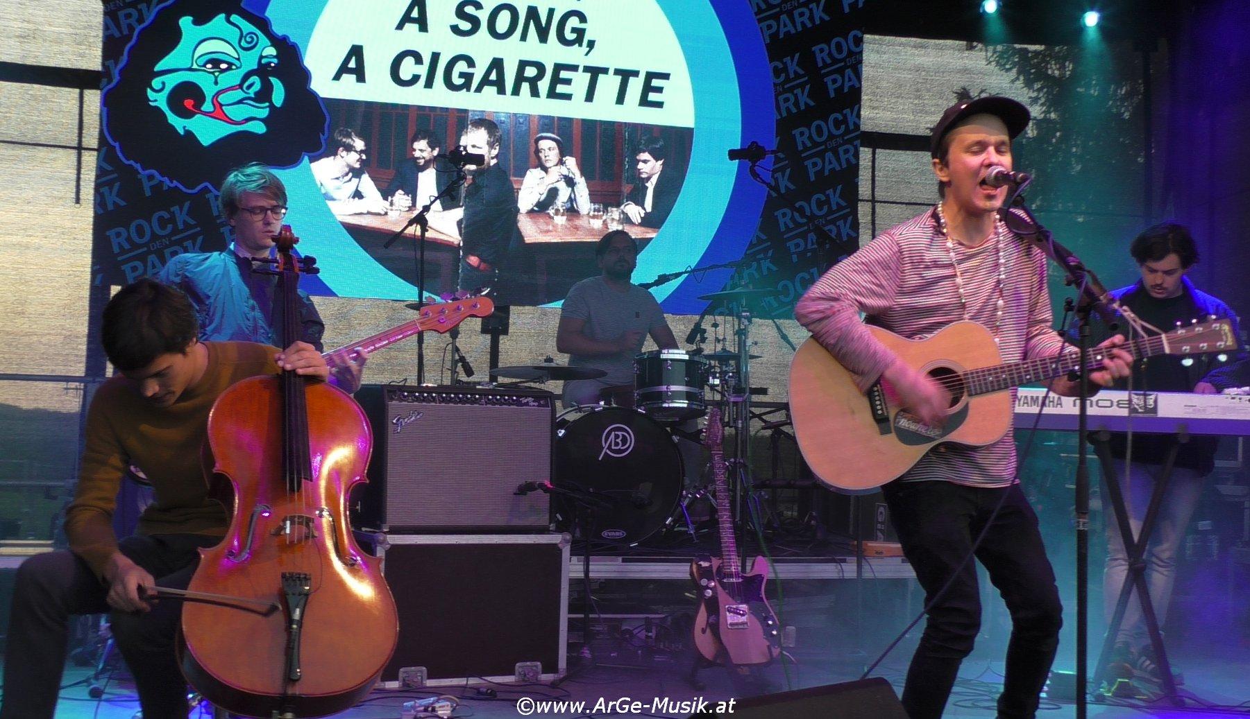 A Life, A Song, A Cigarette, live 2017