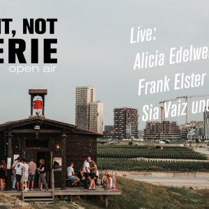 Last exit, Notgalerie 2020 - Open Air mit Alicia Edelweiss, Frank Elster und Sia Vaiz und der Andere
